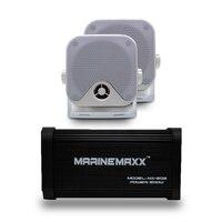 500 Вт 4 канала морской Bluetooth аудио Мотоцикл Усилитель USB/MP3 плеер Водонепроницаемый морской динамики для автомобилей/лодка /мотоцикл