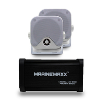 500 Вт 4 канала морской Bluetooth аудио усилитель для мотоцикла USB/MP3 плеер водонепроницаемые колонки для автомобиля/лодки/мотоцикл