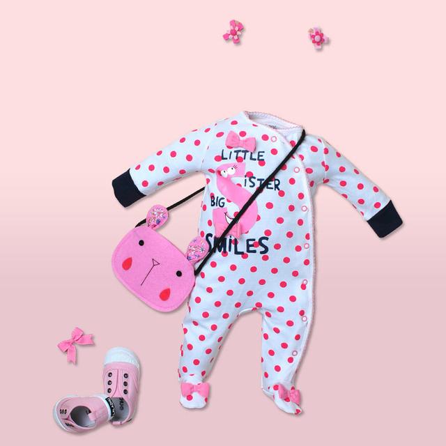 Corpo Terno Meninos Verão New Born Baby Girl Macacão Roupas de Algodão Corpo Infantil Para Recém-nascidos Do Bebê Manga Longa Macacão 707071