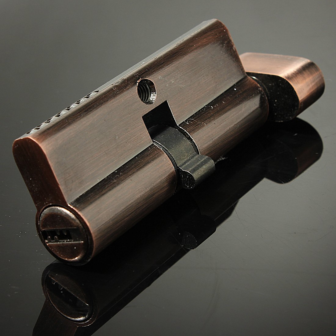 WSFS Hot Sale 70mm Hold Hand Locks Lock Cylinder Brass Lock Core Red copper