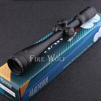 Darmowa wysyłka Dobry Sport 4-16x40 AOE R & G podświetlany Wizjera Lunety Luneta sniper Rifle Shotgun Zakres polowanie