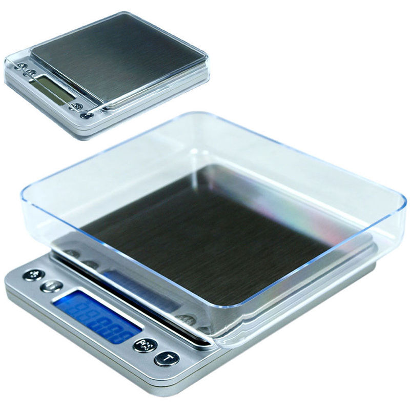 New 500g x 0.01g Digital Jewelry Precision Scale w/ Piece Counting ACCT-500 .01 g Scale