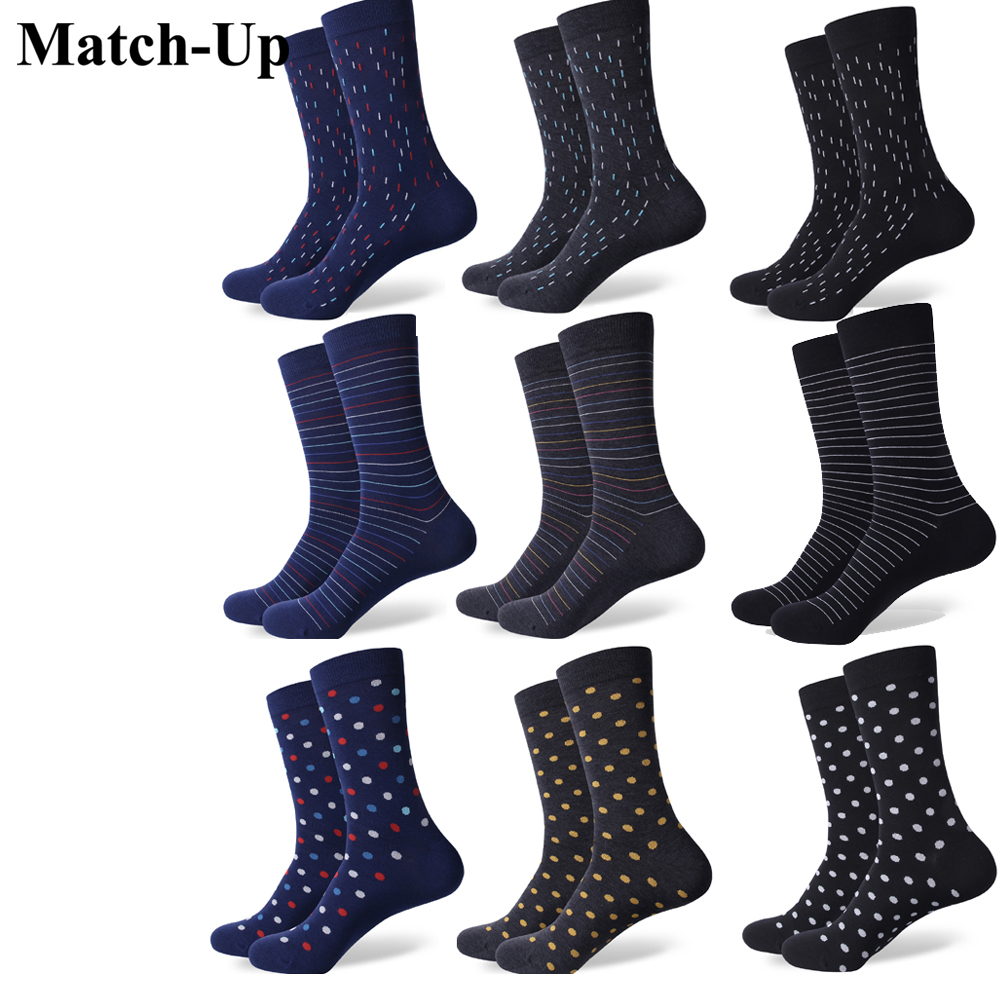 Match-Up New Styles Herrenkleid Gekämmte Baumwollsocken
