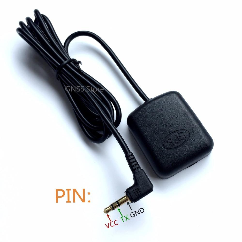 3.5 receptor GPS Módulo antena para Carro DVR GPS Log Gravação Rastreamento Antena Acessório para A118 para A118C Carro Traço câmera