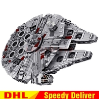 LP 05033 5265Pcs Star Wars Ultimate Collector's Millennium Falcon Building Block Set Bricks LPings toys Clone 10179