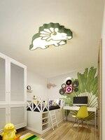 Children's room lamp bedroom lamp simple modern boy girl cartoon creative room lamp dinosaur led ceiling lamp