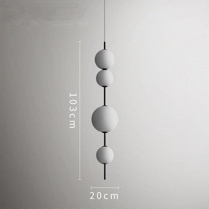 Image 5 - Modern LED Pendant Lamps Hanging Lamps Restaurant Gourd Pendant Lights Cafe Bar Bedroom Kitchen Dining Room Glass Deco Fixtures-in Pendant Lights from Lights & Lighting