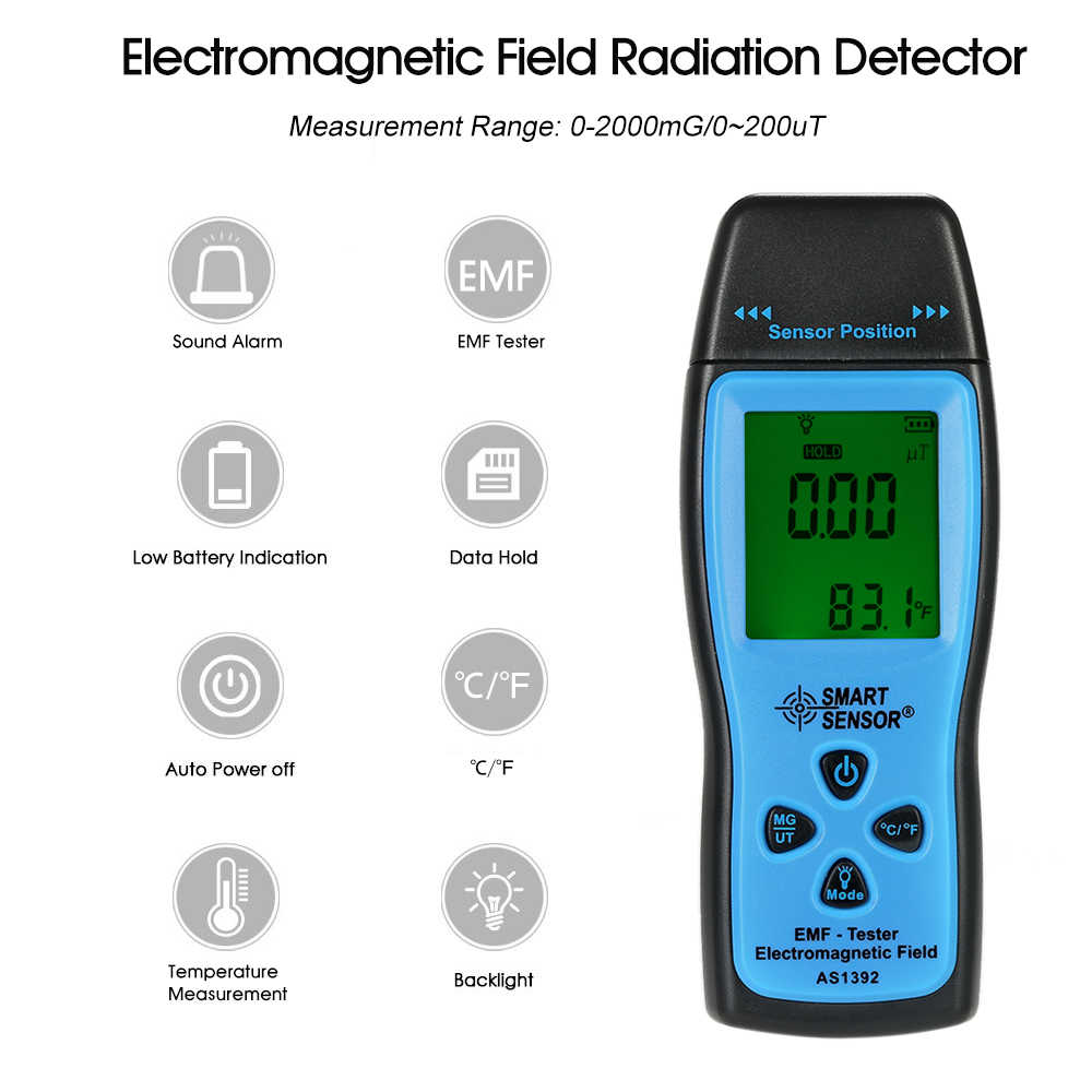 Detail Feedback Questions About Emf Meter Handheld Mini Digital Electromagnetic Field Detector Circuit Lcd Radiation Dosimeter Tester Counter