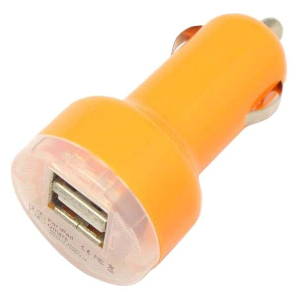 3 шт. двойной 2.1A 2-Порты и разъёмы USB Автомобильное Зарядное устройство адаптер для iPhone samsung LG универсальный оранжевый