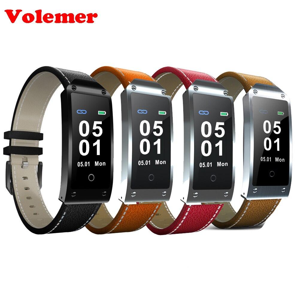 Volemer Y2 Smart Bracelet Coeur taux Sang pression Montre hommes intelligente bracelet Podomètre Fitness tracker Smart bande PK mi bande 2