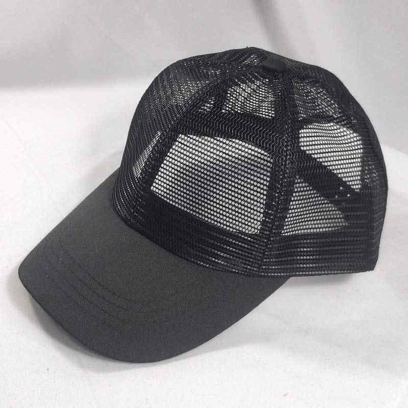 2e5cfa6f Men Women Adjustable Basic Full Mesh Trucker Hat Baseball Cap ...