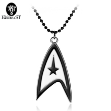 Free shipping Star Trek Necklace science museum&Engineering Building&medical department Pendant jewelry christmas gifts