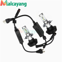 2PCS H4 LED Headlight Bulbs Headlamp LED Car Headlight With P Hilips Lamp Beads 50W 8000LM