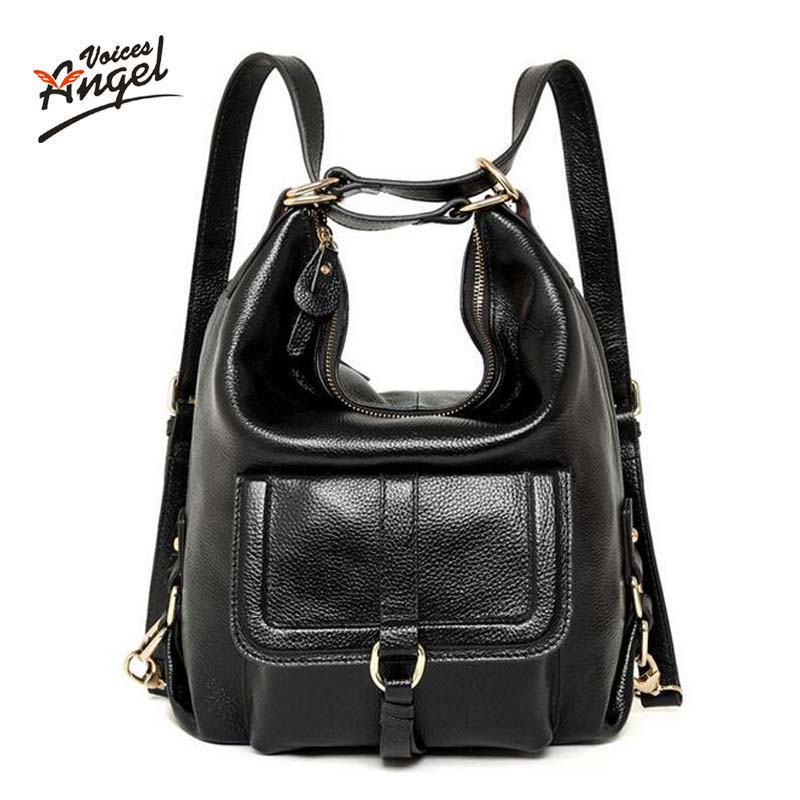 American Luxury Genuine Leather Women Shoulder Bag Fashion Brand ... db4a74e4b243a