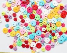 3000 шт Различные цвета 9 13 мм милые крошечные Швейные Кнопки