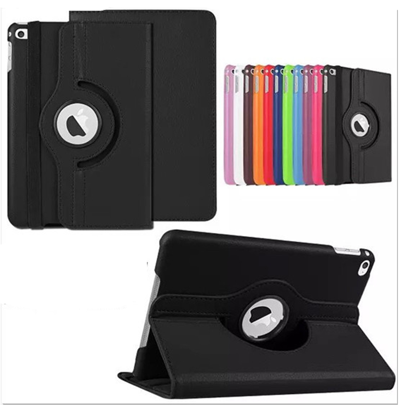 For iPad Pro 12 9 inch 2017 2015 Case 360 Rotating Flip Stand Smart PU Leather Cover for iPad Pro 12 9 A1584 A1670 Coque Funda in Tablets e Books Case from Computer Office