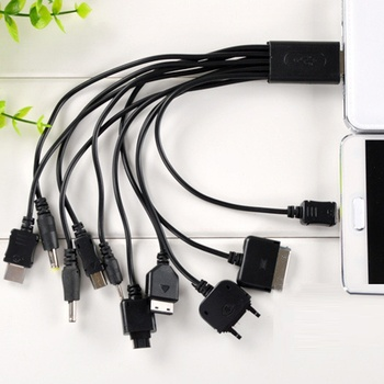 10 in 1 Universal Multi-Function Cell Phone Game USB Charging Cable