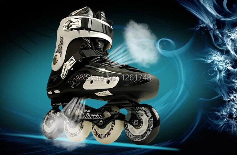 цены Skating shoes professional roller skates slalom skates fancy shoes  adult inline skates