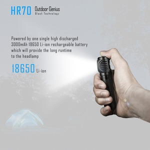 Image 5 - IMALENT HR70 faro CREE XHP70.2 LED max 3000 lumen faro magnético de carga con batería de 18650 li linterna LED para cabeza