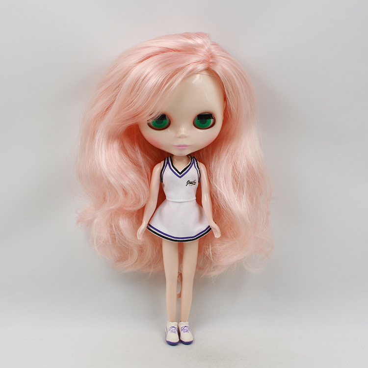 Mixed hair Nude Blyth Doll Factory doll Suitable For DIY