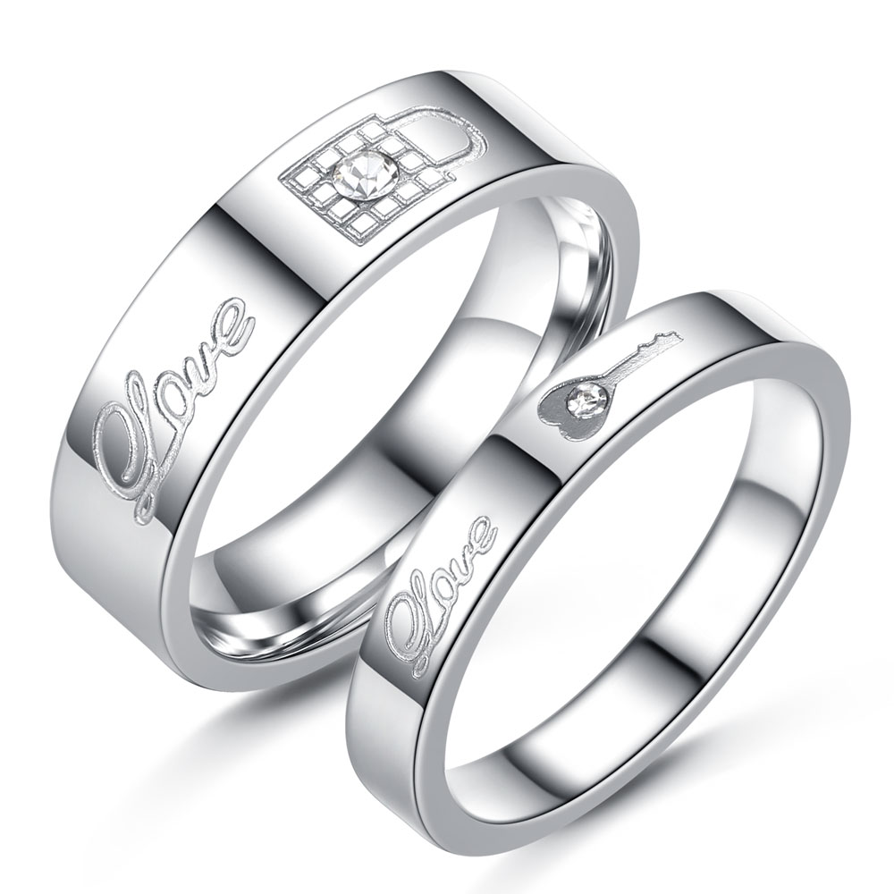 Couple Rings Korean Promotion-Shop for Promotional Couple Rings ...