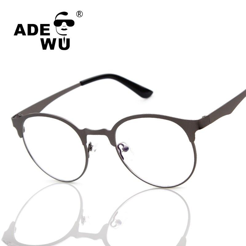 இAde Wu elegante media Marcos aleación del ojo de gato Monturas de ...