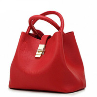 DAUNAVIA Famous Brand Fashion Candy Women Bags Mobile Messenger Ladies Handbag PU Leather High Quality Diagonal