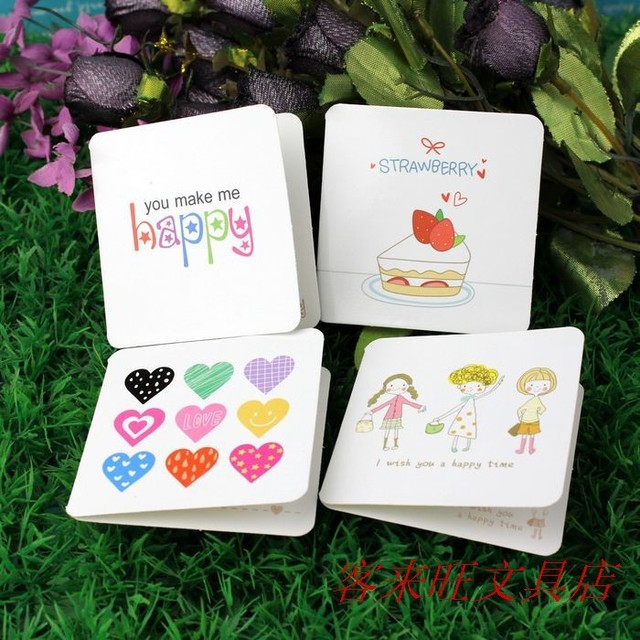 aliexpress  buy wholesale pcs/lot  designs cute cartoon, Birthday card