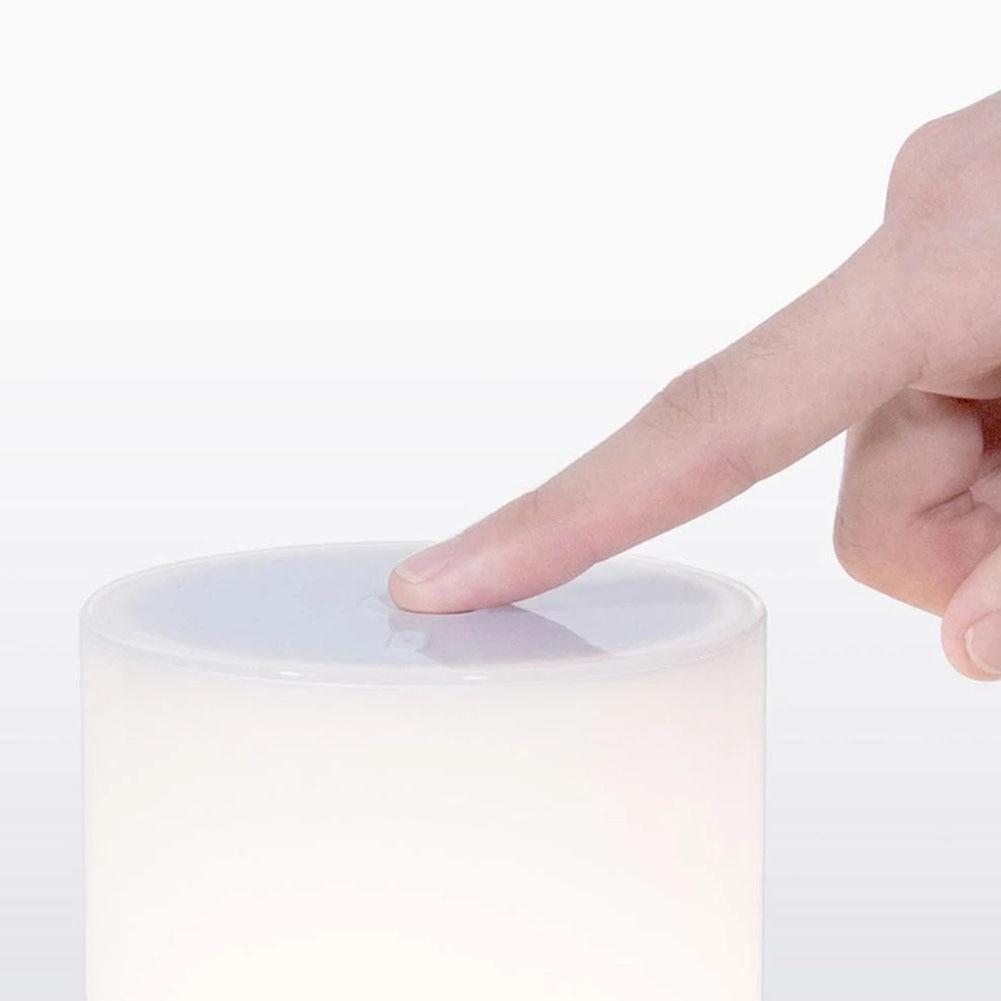 In Staat Eenvoudige Led Sensor Nachtlampje Nachtkastje Indoor Smart Tafellamp Home Zonsondergang Simulatie Bluetooth Dimmen Wifi Controle