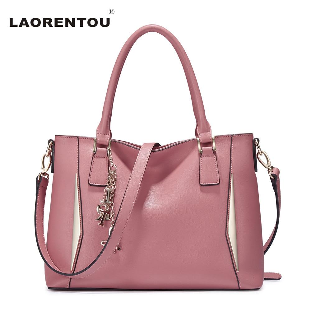 LAORENTOU Exclusive Sequined Cowhide Leather Crossbody Bags For Women Luxury Handbags Women Bags Designer Shoulder Tote Bag N45