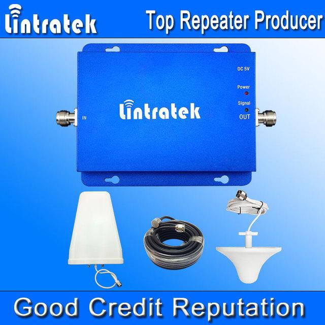 Lintratek Teléfonos Celulares Verizon HSPA 850 1900 MHz 2G 3G Dual Amplificador de Señal de banda GSM850 UMTS1900 Teléfono Celular Amplificador Kit Completo F22