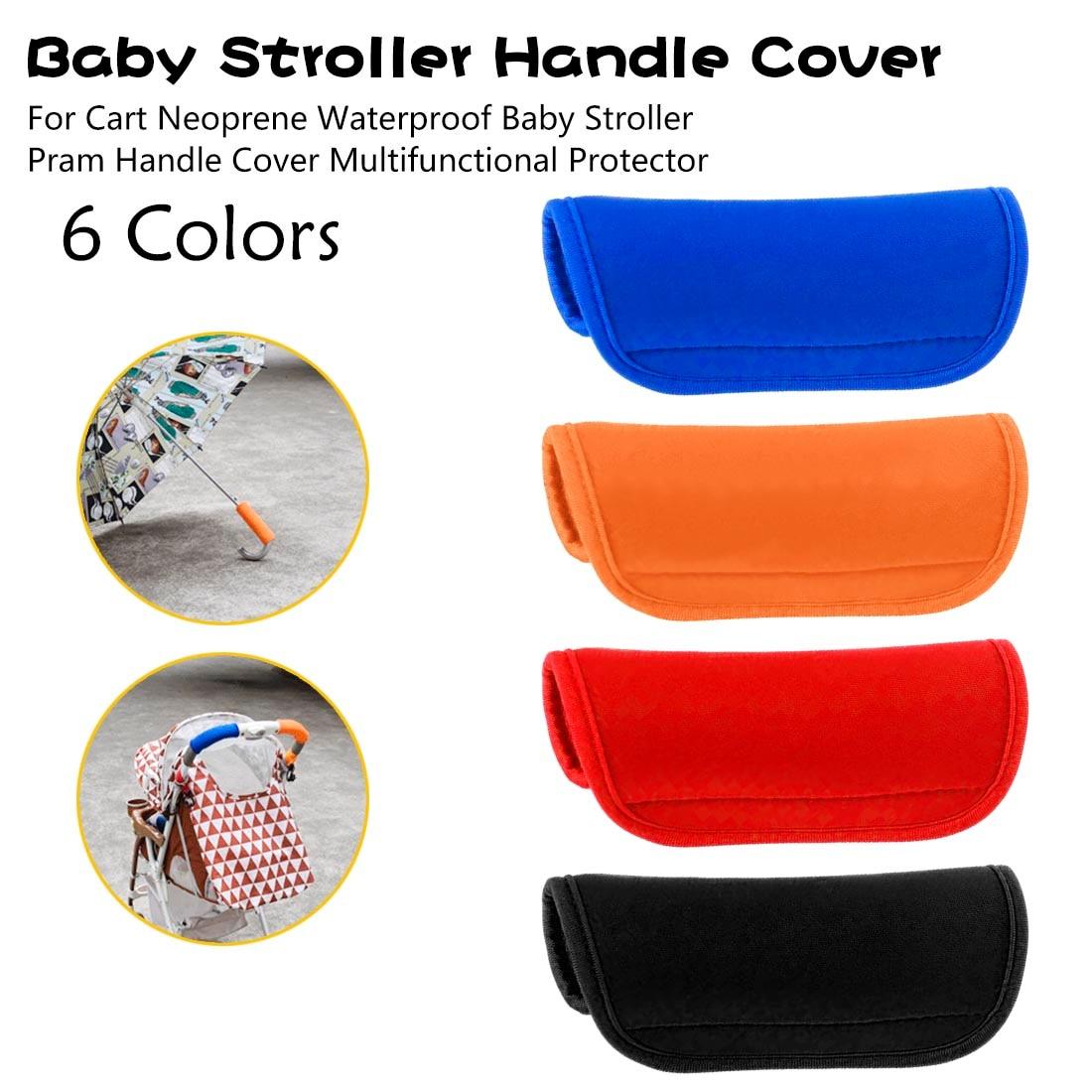 Strollers Armrest Covers Stroller Handle Cover Self-adhesive EVA Foam