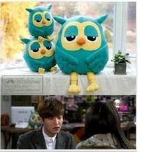 Free shipping Hot sale 55cm cartoon heirs owl plush toy owl soft stuffed toy children birthday gift