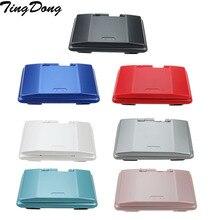 7 renk pembe mavi kırmızı siyah yeşil beyaz gümüş tam yedek konut Case kapak kabuk kiti DS NDS için konsol