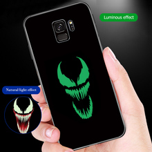 ciciber Marvel Venom for Samsung Note 9 8 Case Back Cover Galaxy S10e S10 S9 S8 Plus S9+ S10+ S8+ Glass Cases Funda