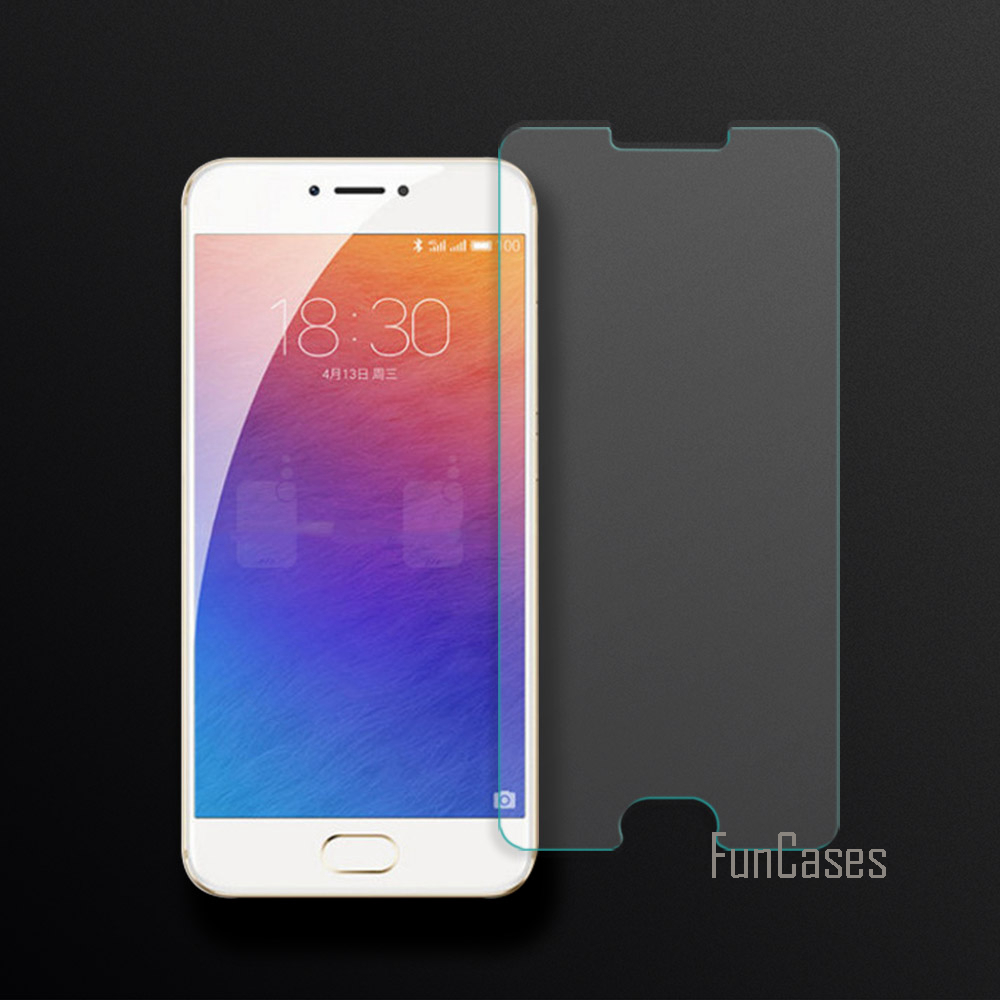 Full Cover Tempered Glass For Meizu Pro 6 / MX6 Pro Screen Protector Film For Meizu Pro 6 / MX6 Pro 2.5D Curved Edge Screen 0.26