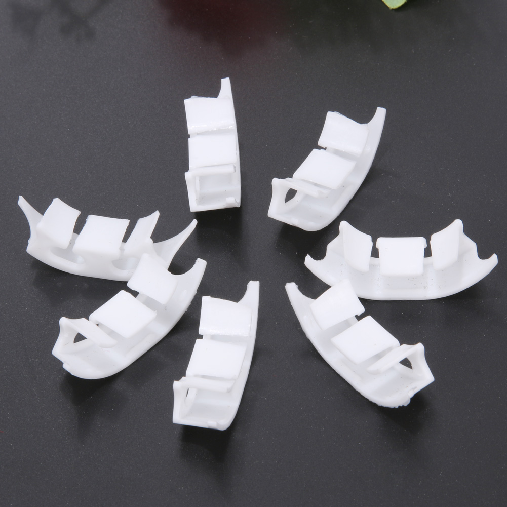 100pcs Plastic Plant Clips Tomato Fastener Fixing Strawberry Vegetable Garden Farming Supplies Plant Clip Garden Pruning Tools