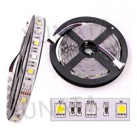 10m DC12V LED Strip SMD 5050 60Leds/m RGBW Flexible Led Light Strip Waterproof Ribbon Tape 40key IR Controller AU/EU/US/UK Plug