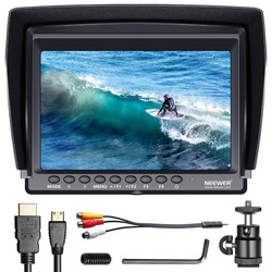 Neewer F100 7-inch 1280x800 IPS Screen Camera Field Monitor support 4k input HDMI Video For DSLR Mirrorless Camera SONY A7S II
