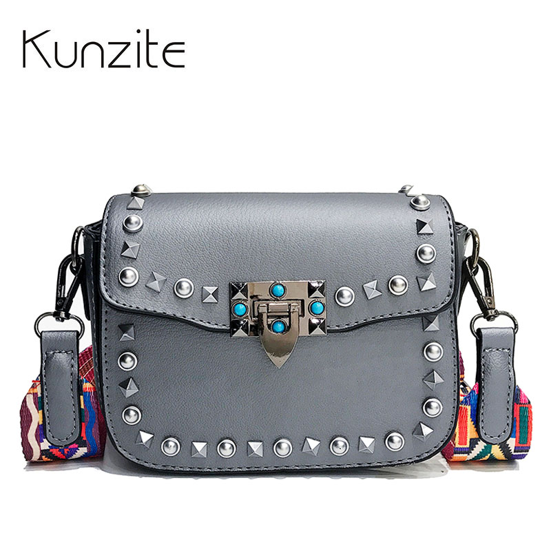 Kunzite Rivet Beach Bag Handbags Women Famous Brand Luxury Handbag Women Bag Designer Crossbody Bag for Women 2018 Sac A Main cool walker mini chain bag handbags women famous brand luxury handbag women bag designer crossbody bag for women purse bolsas