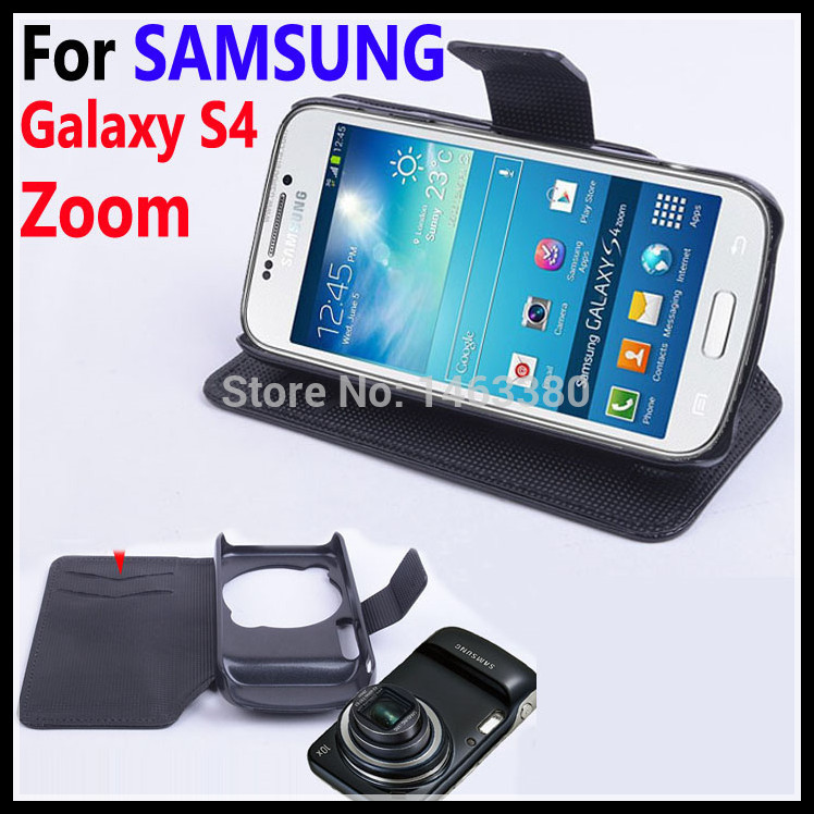 High Quality Leather Case For SAMSUNG Galaxy S4 Zoom C101 Flip Cover case With Card Slot S 4 C 101 Leather Case Phone CasesHigh Quality Leather Case For SAMSUNG Galaxy S4 Zoom C101 Flip Cover case With Card Slot S 4 C 101 Leather Case Phone Cases