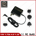 Портативный 19 В 1.75A 4.0*1.35 мм 33 Вт Для ASUS Vivobook Taichi 11.6 S220 S200E X202E F201E Q200E S200E Адаптер Питания Зарядное Устройство