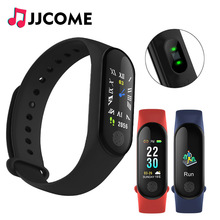 M3 Plus Smart Bracelet Sport Bracelet Blood Pressure Heart Rate Monitor Fitness Tracker Band Wristband Smart Watch For Men Women