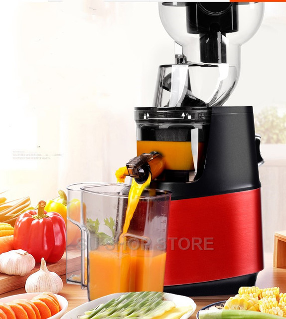 250w powerful 90mm large diameter wide mouth Fruit nutrition slow juicer Fruit Vegetable Tools Multifunctional Fruit Squeezer 2