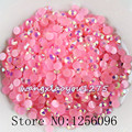 5000pcs/bag,SS16,4mm,Nail Art,Dark pink,Jelly AB resin flatback crystal rhinestone,phone case,use glue,Crystal nails,Decoration