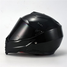 carbon fiber print motorcycle helmet full face motocross new design hel