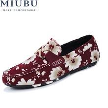 купить MIUBU Men Canvas Shoes Summer Breathable Slip on Loafers Soft Light Design Fashion Stylish High Quality Male Flat Casual Shoes по цене 1162.59 рублей