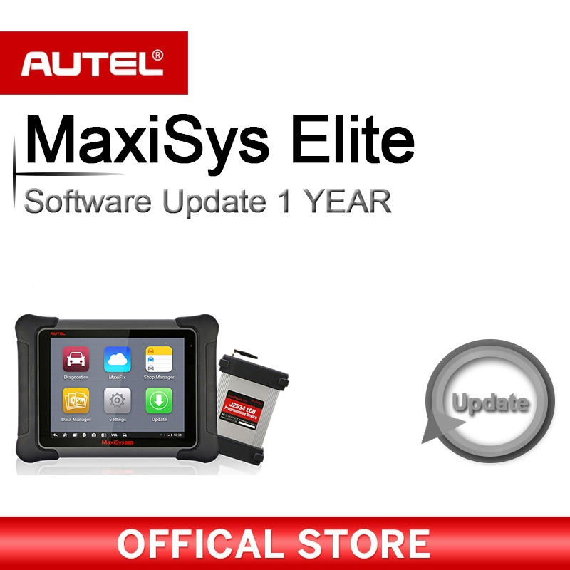 Autel MS908-1YRUPDATE 1 Year Update For MaxiSYS® MS908
