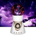 Legal íon eletrostática bola mágica luz orador alto-falantes bluetooth alto-falantes de áudio cartão