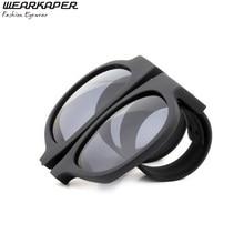 Wearkaper gafas de sol new estilo plegable gafas de sol mujeres de los hombres a la vez innovador diversión gafas de sol feminino gafas de sol